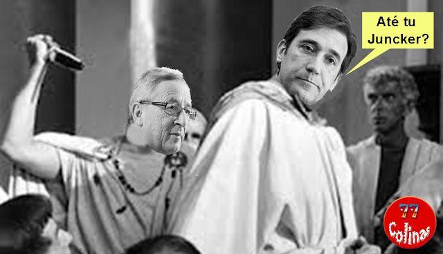 """77 Colinas: """"Juncker diz que Portugal se opôs a reestruturação..."""