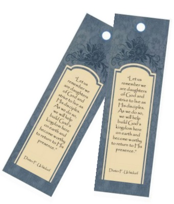 March 2012 Visiting Teaching Message Bookmark  (with correct link)