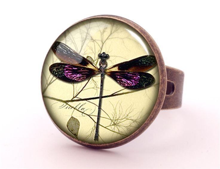 Dragonfly Ring, 0593RB from EgginEgg by DaWanda.com