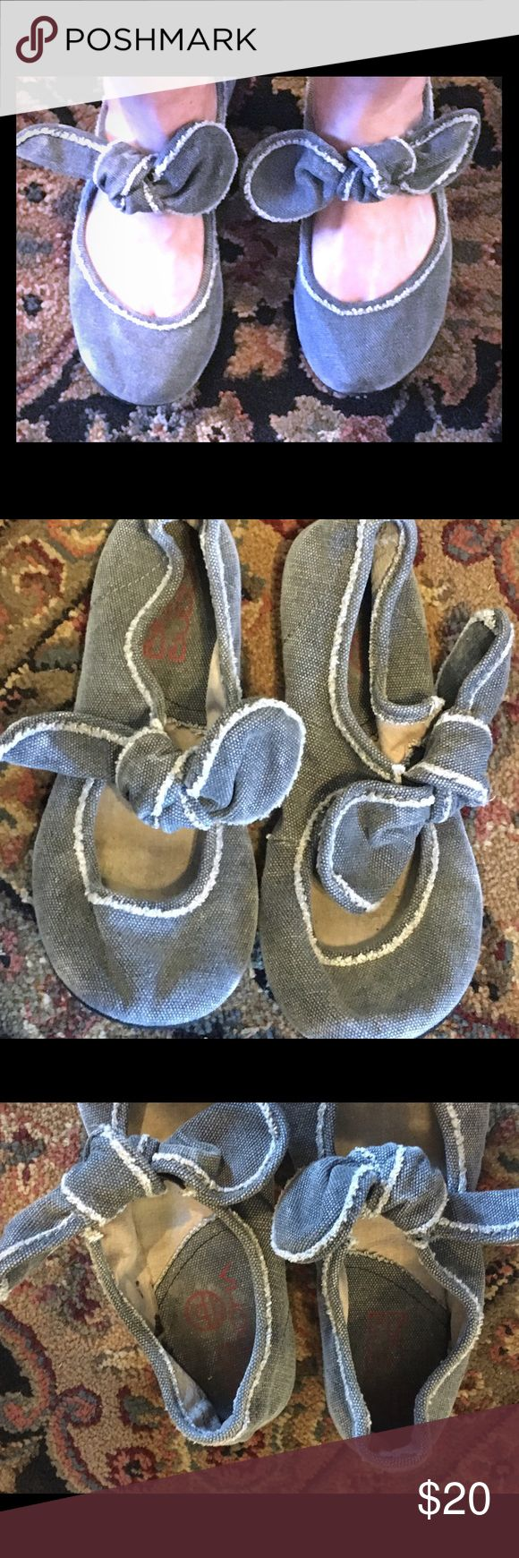Big Buddha slip on shoes Big Buddha slip on shoes. Blue denim color. Size 8 no trades. Big Buddha Shoes