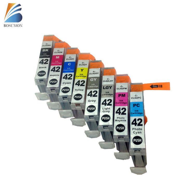 8 PACK CLI 42 CLI42 INK CARTRIDGE FOR CANON PRINTER Pixma Pro 100