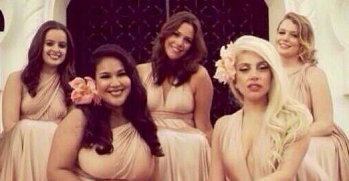 Lady Gaga, dama de honor de una boda en México [FOTOS]