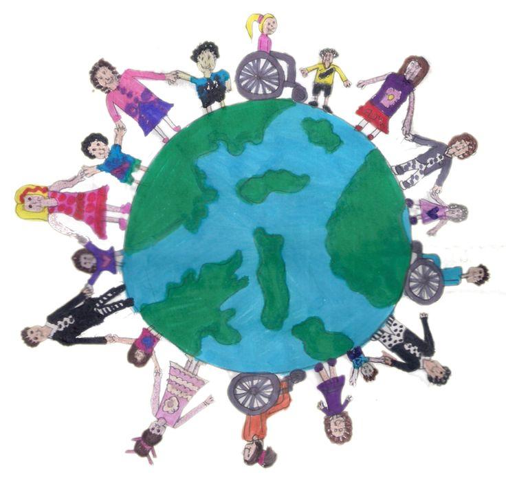 ο κύκλος θα γινότανε..peace-no-racism.-Σεμανούρ-Μειονοτικό Σχολείο Λυκείου-Δ΄Τάξη-2015-'16