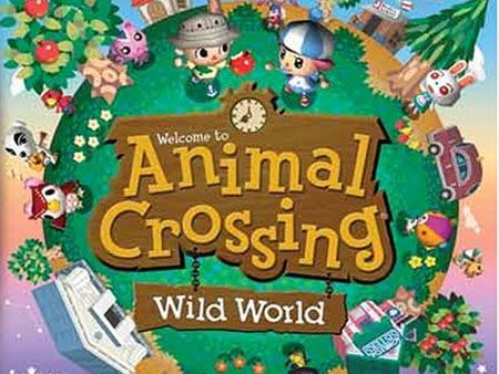 Animal Crossing for Ninetendo DS  -I really like the bright colours and cuuute little people c: