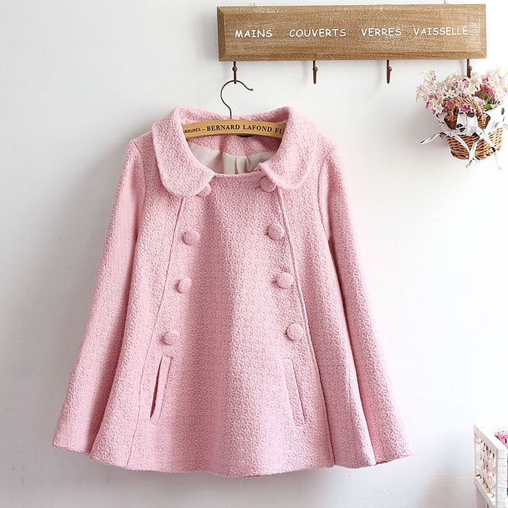 akigogo Double Breasted Coat   YESSTYLE
