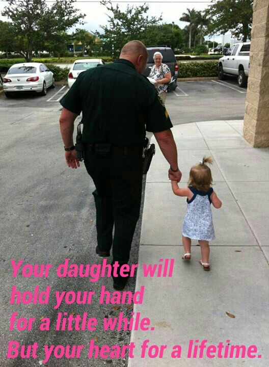 Police officers are dad's too.