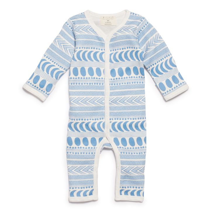 Wilson and Frenchy - Moon Aztec Long Sleeve Growsuit