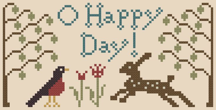 My Heartstring: Free Chart ... O Happy Day! Thanks Beth!