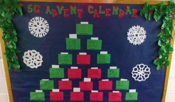 Advent Calendar Bulletin Board : Best bulletin board winners fall images on