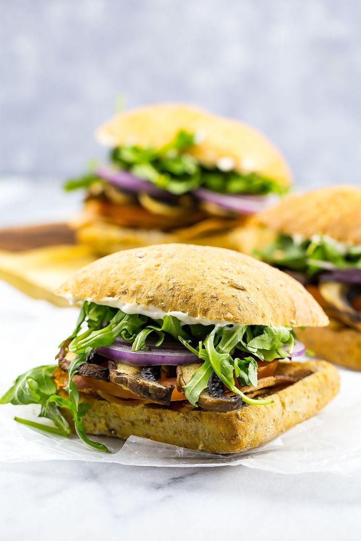 Portobello Mushroom BLTs – Uteki Recipes, Food, & Cooking