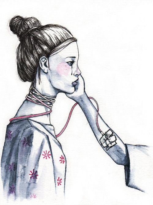 queennarnia:  Dibujos de Albert Soloviev para el libro de Irene X http://www.albertsoloviev.com/