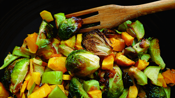 Brussels Sprouts With Butternut Squash & Apples New York