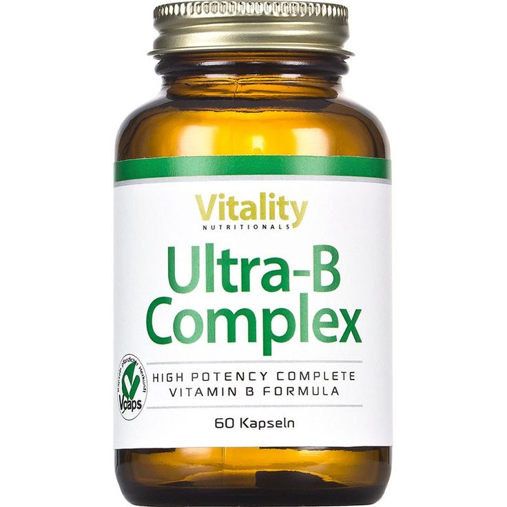 Vitamin B Kapseln kaufen: Ultra B Complex - Vitality Nutritionals - VitaminExpress