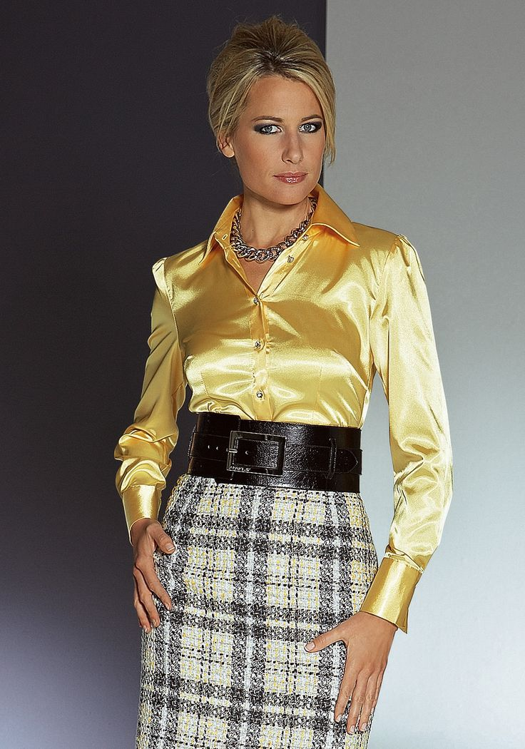 Satin blouse video