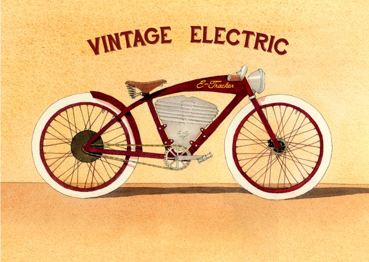 Sweet Electric Bike Designs From Vintage Electric Bikes Www