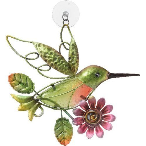 Sun catcher window decor hummingbird regal art 10183 for Hummingbird decor