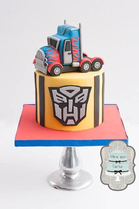 Tarta Transformers                                                                                                                                                                                 Más
