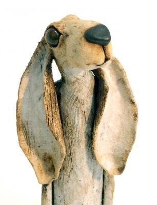 JJ ceramic hare