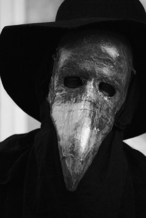There really must be a place for Plague doctors...perhaps as a common mask to cover face changes?