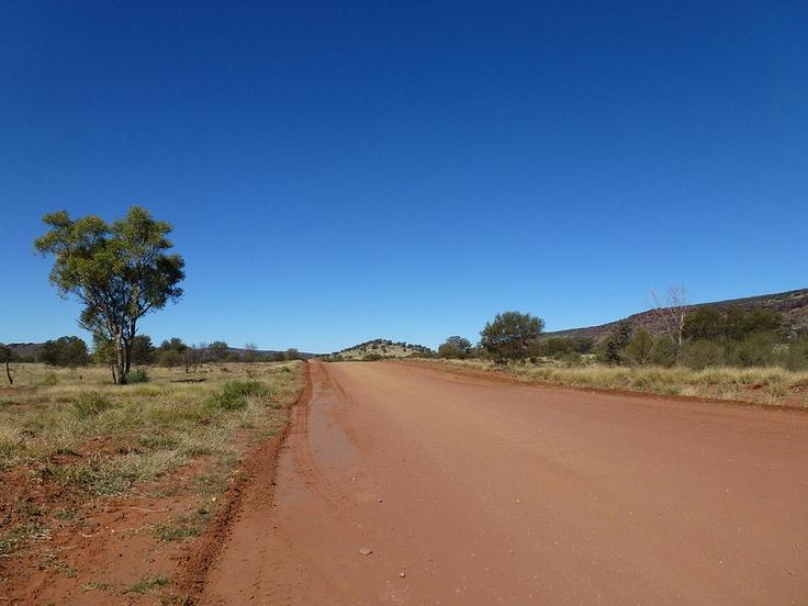 Journey into the Australian Outback - Jayne Gorman en route to Uluru in Australia.