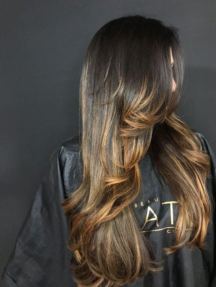 Pin by ❤️ شمـــــــس الاصيــــــــــل ❤️ on ✄ нαíя ѕtуℓєѕ ✄ in 2019 | Pinterest | Hair styles, Hair and Long layered hair