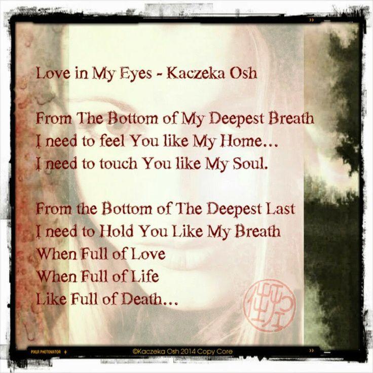 Love in My Eyes