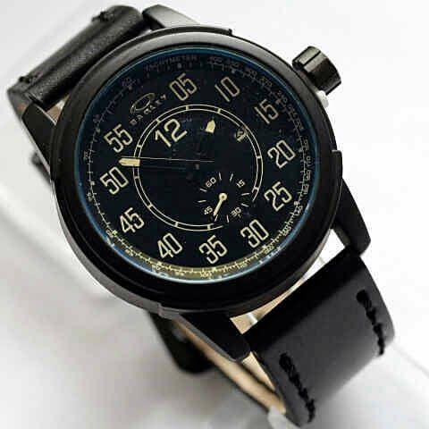 Oakley chrono kulit hitam putih – ok06