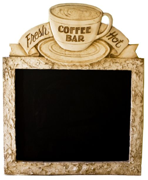 Coffee Decor, Coffee Bar Chalkboard Mkae This And Put Scripture Of The Week  On It Part 57