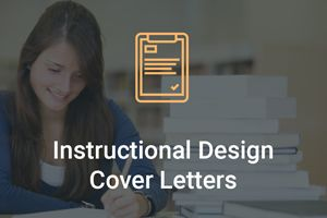 Instructional Design Cover Letter - Things to Include and Avoid ...