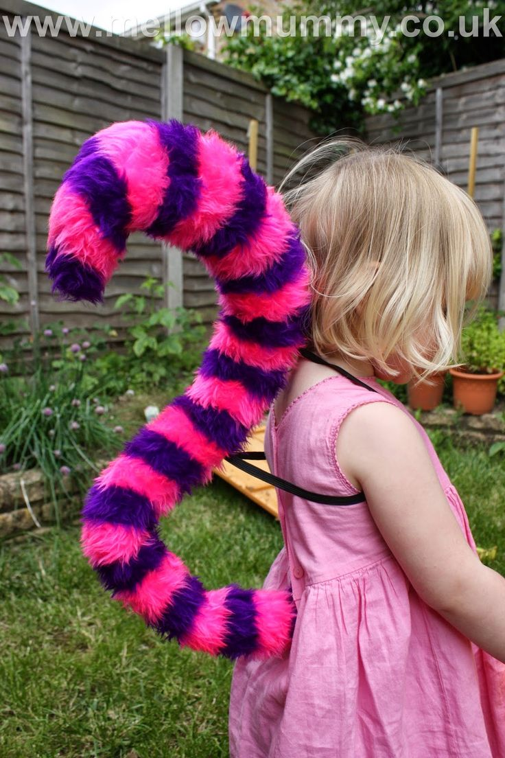 Image result for cheshire cat tail and ears diy Diy