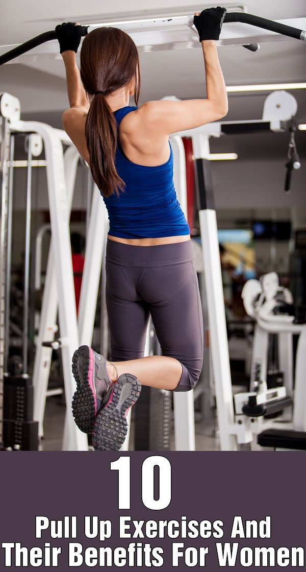 Top 10 Pull Up Exercises And Their Benefits For Women