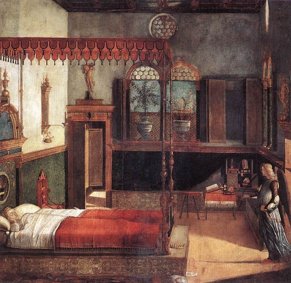 The Dream of St. Ursula, 1495, Vittore Carpaccio