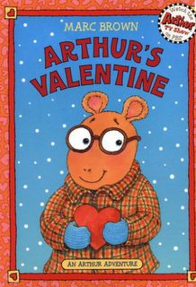 Free online book link for Arthur's Valentine and reading activity.