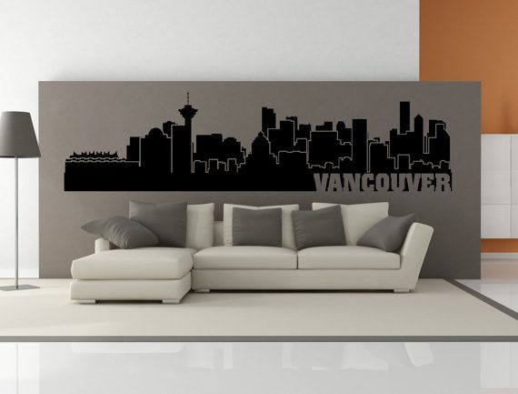 PREMIUM Vancouver British Colombia Canada City Skyline