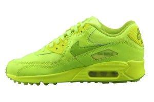 Prezzo nuove nike air max 90 uomo scarpe da ginnastica tutte fluorescenti verdi scontate online