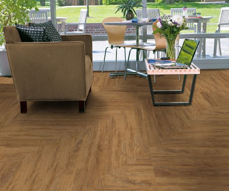 Armstrong Vivero Good Golden Glaze #U5080 in 6 x 48 inch Vinyl Wood Planks