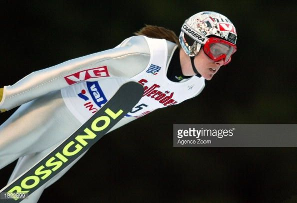 Tommy Ingebrigsten of Norway 3rd place competes in the K95 event of the FIS World Championships on February 28 2003 in Val Di Fiemme Italy