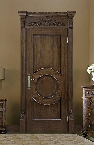 Межкомнатная дверь «Версаль». Отделка «американский орех» #дверирулес #двери…