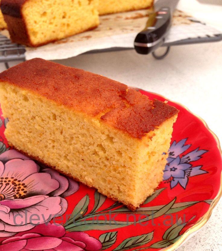Light and Luscious Mandarin cake