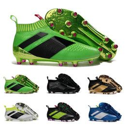 2017 Cheap Online ACE 16+ PureControl best quality soccer boots more color football shoes men soccer shoes football boots Sport Shoes