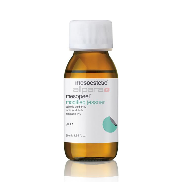 Mesopeel Jessner is a broad spectrum peel planned for aging, hyperpigmentation and superficial scarring as well as sensitive, dull, wrinkled and dark skin types.