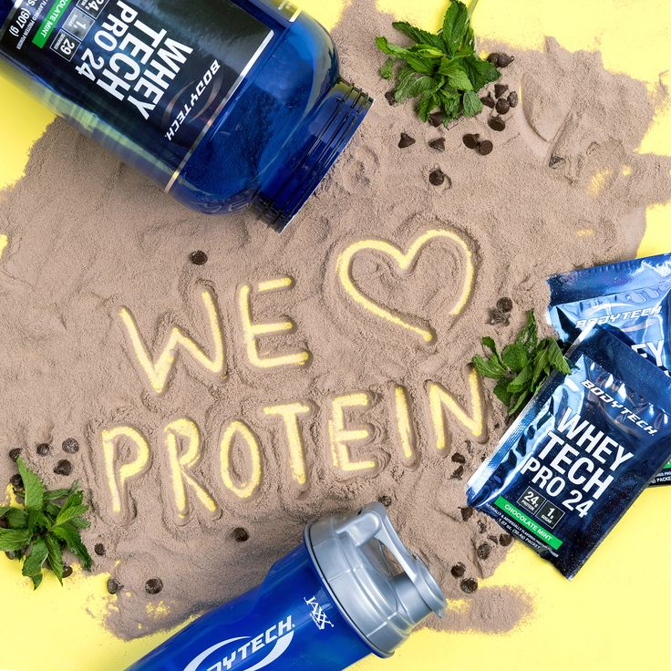We LOVE protein! Especially this Chocolate Mint Body Tech!