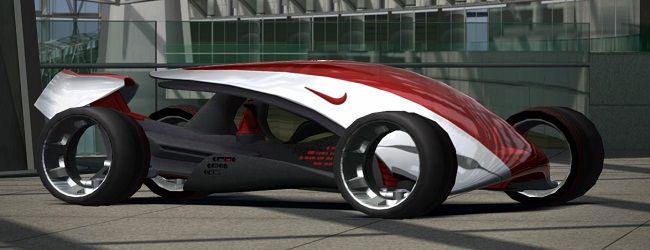 Wat veel mensen niet weten, is dat Nike in samenwerking met Polyphony Digital een auto heeft ontworpen. De auto draagt de naam Nike ONE, en moet in 2022 af zijn. De auto moet 370 km/h kunnen halen en het bijzondere is dat hij wordt opgeladen (Ja, hij is elektrisch) met een 'Wearable generator'. Oftewel, als jij loopt, rent of een andere actieve handeling verricht, gebruikt de Nike ONE die energie later om op te rijden.