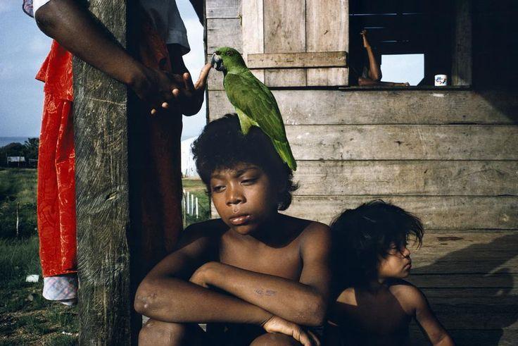 Miskito children. Nicaragua, 1992.