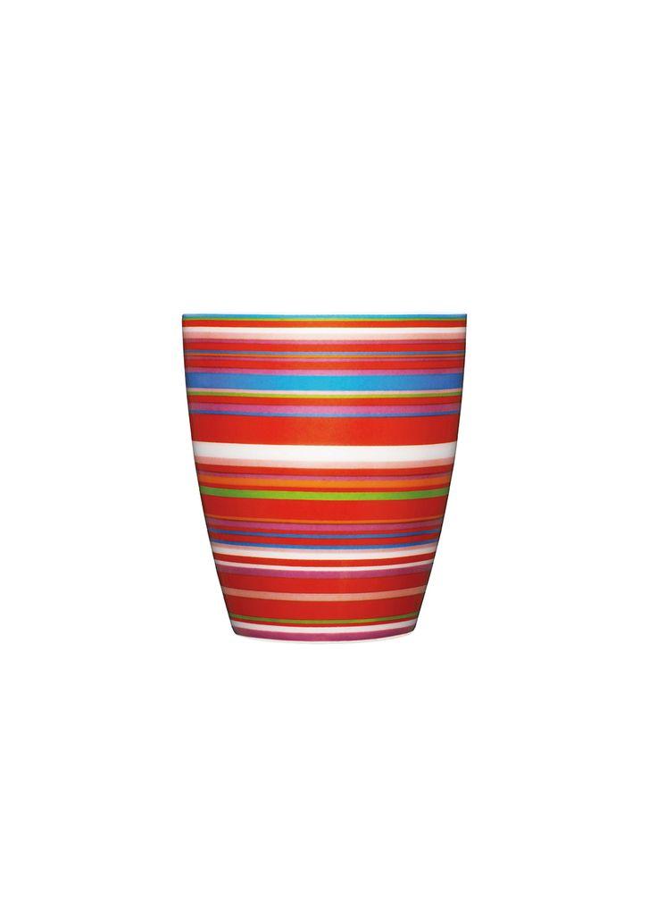 Origo Mug 0,25 l red Alfredo Häberli