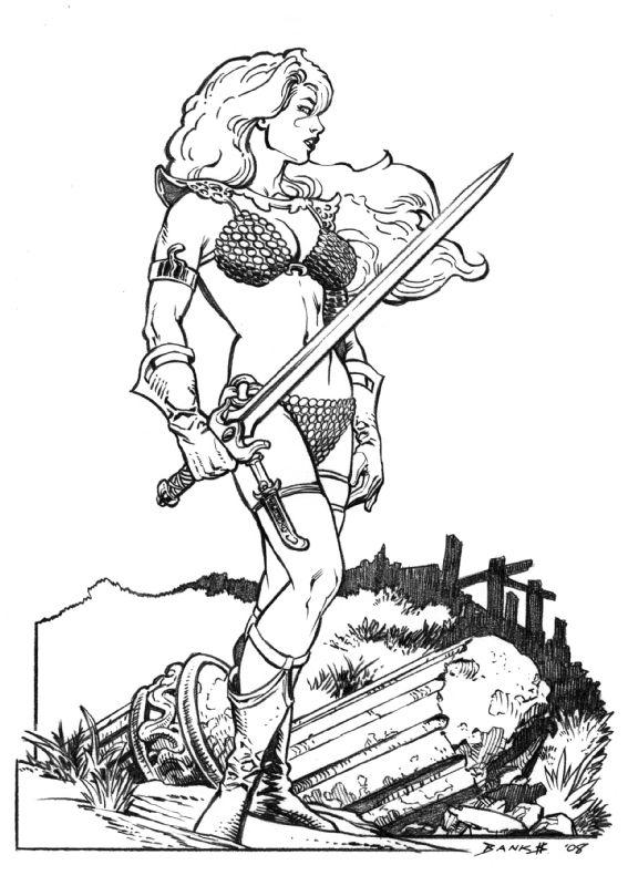 Red Sonja_pencils.jpg (567×800)