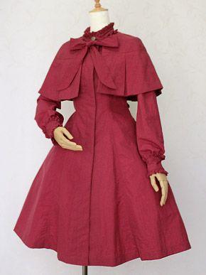 Victorian maiden style. Reminds me of my OC, Kirita-chi :3