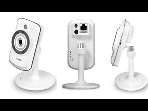 Teste - Câmera Wireless Wi-Fi de monitoramento D-Link DCS942L com visão ...