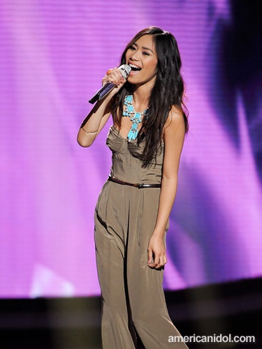 """I Don't Want To Miss A Thing"" was Jessica's song choice and Steven Tyler loved her rendition saying, ""You just took a great song and made it greater"" after her performance."