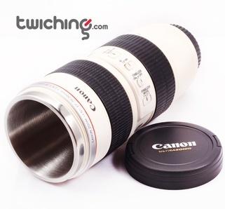 Lens Coffee Mug Canon EF 70-200mm f/2.8L , visit www.twiching.com